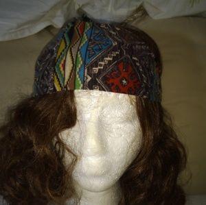 Aztec printed headband